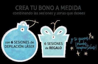 Depilación Láser Campaña Navidad Hedonai