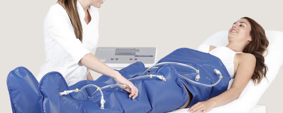 Si tienes problemas de circulación, puedes pensar en la presoterapia