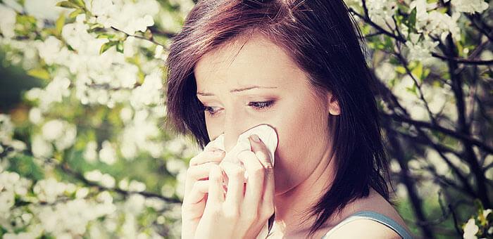 Alergias en primavera: cómo afectan a tu piel
