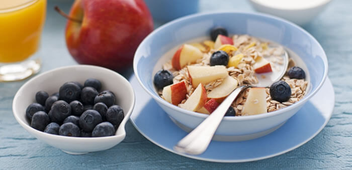 Para este verano, desayuno sano y sabroso