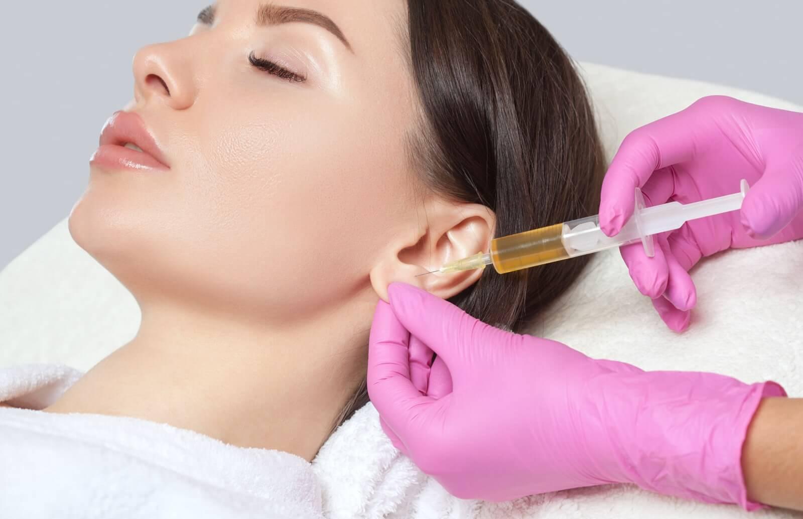 tratar el lóbulo de la oreja flácido