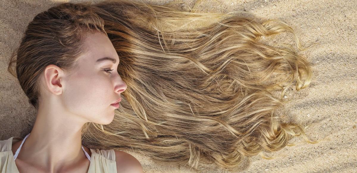 Cuero cabelludo quemado por el sol